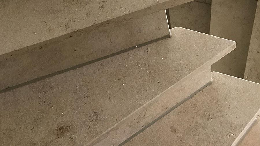 Treppenstufen aus Stein