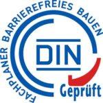 Logo/Zertifikat Fachplaner für barrierefreies Wohnen